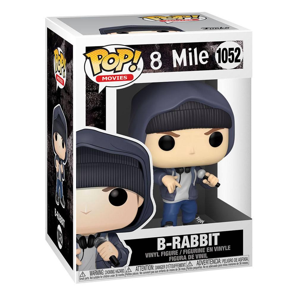 Photo du produit 8 Mile POP! Movies Vinyl Figurine Eminem B-Rabbit 9 cm