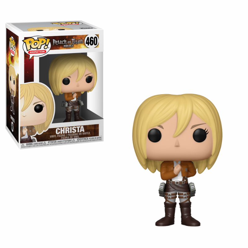 Photo du produit FIGURINE FUNKO POP ATTACK ON TITAN SEASON 3 CHRISTA