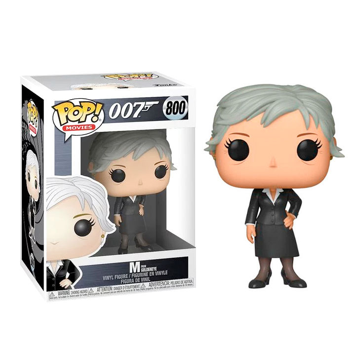 Photo du produit JAMES BOND POP! MOVIES VINYL FIGURINE M