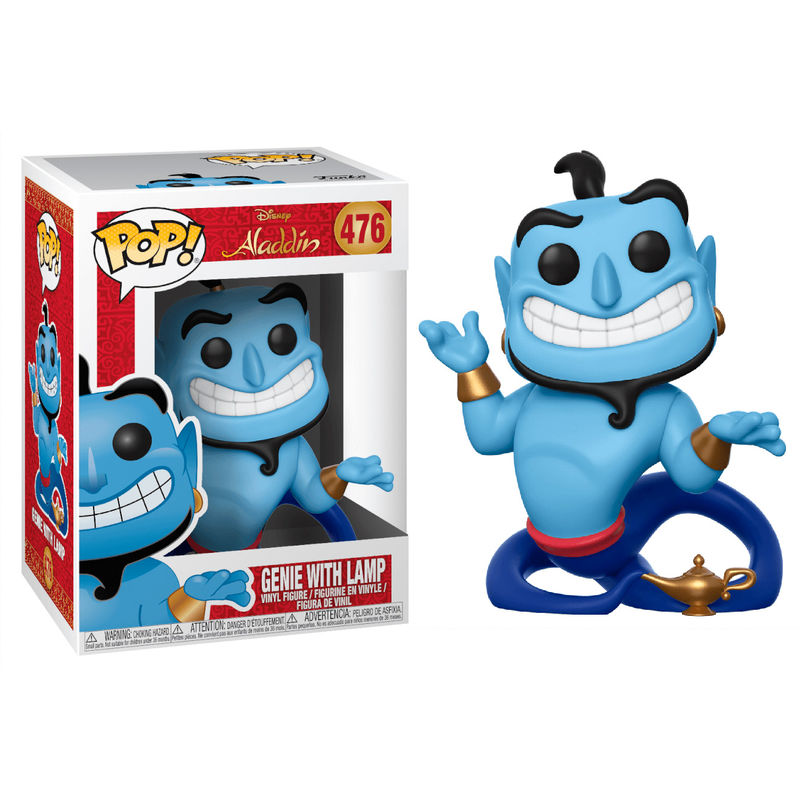 Photo du produit FUNKO POP DISNEY ALADDIN GENIE WITH LAMP