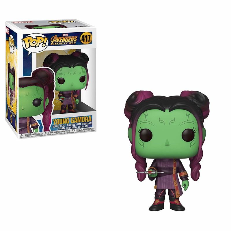 Photo du produit FUNKO POP MARVEL INFINITY WAR YOUNG GAMORA DAGGER