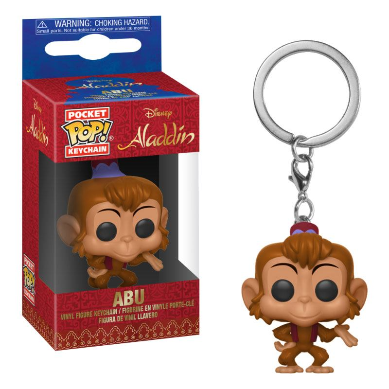 Photo du produit PORTE CLE ALADDIN POCKET POP! ABU
