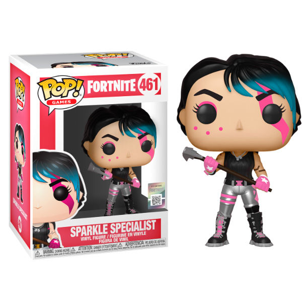 Photo du produit FORTNITE FIGURINE POP! GAMES SPARKLE SPECIALIST