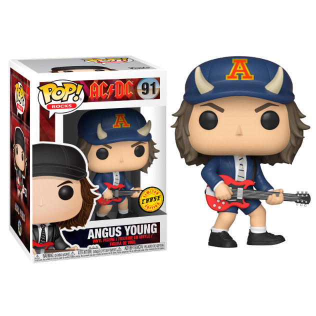 Photo du produit FIGURINE FUNKO POP AC/DC ANGUS YOUNG CHASE