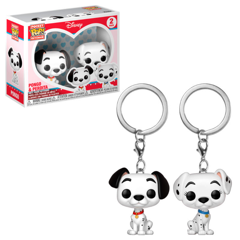 Photo du produit PACK PORTE CLÉ POCKET POP DISNEY LES 101 DALMATIENS