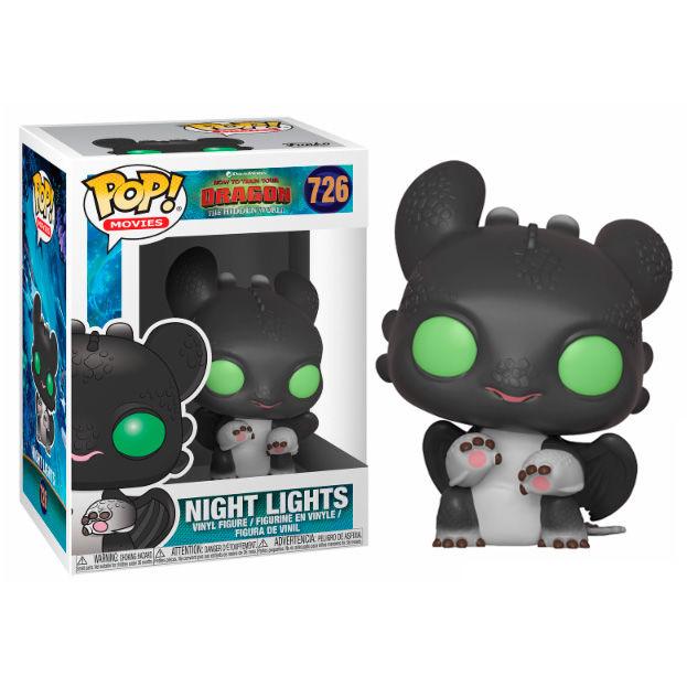 Photo du produit DRAGONS 3 POP! VINYL FIGURINE NIGHT LIGHTS ALLISON