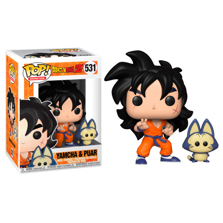 Photo du produit FIGURINE FUNKO POP DRAGONBALL Z YAMCHA & PUAR