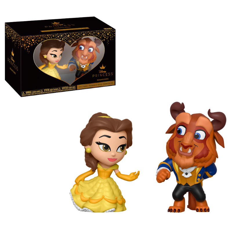Photo du produit PACK 2 FIGURINES MYSTERY MINIS DISNEY LA BELLE ET LA BETE  - BELLE & LA BETE