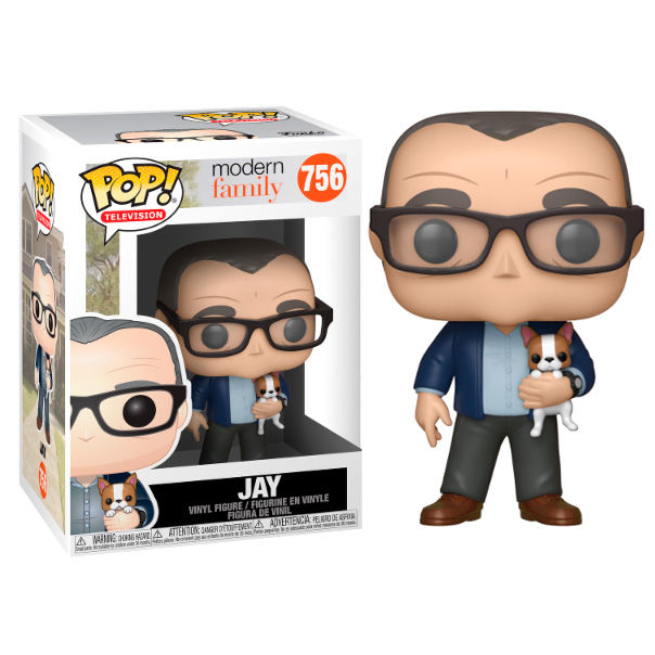Photo du produit FUNKO POP MODERN FAMILY JAY WITH DOG