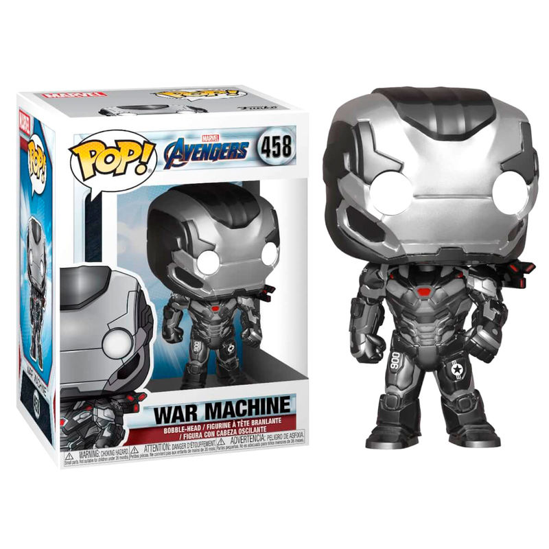 Photo du produit FUNKO POP MARVEL AVENGERS ENDGAME WAR MACHINE