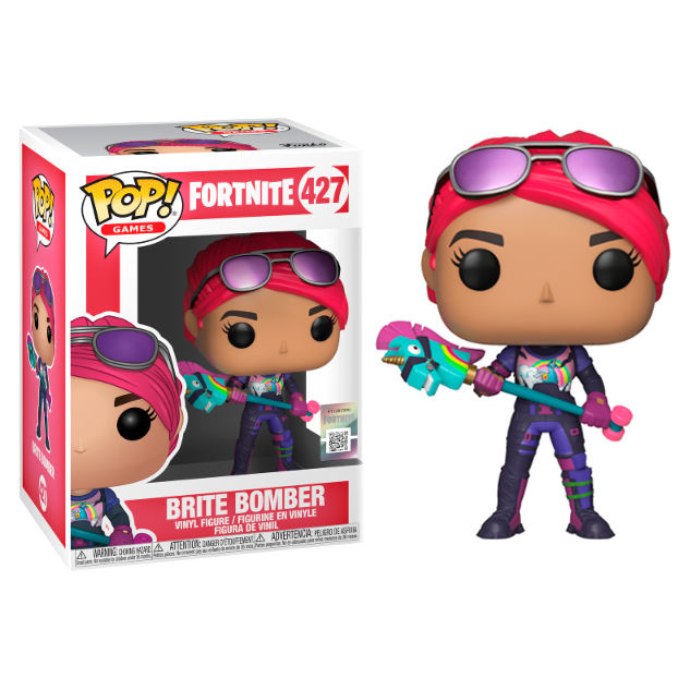 Photo du produit FIGURINE FUNKO POP FORTNITE BRITE BOMBER