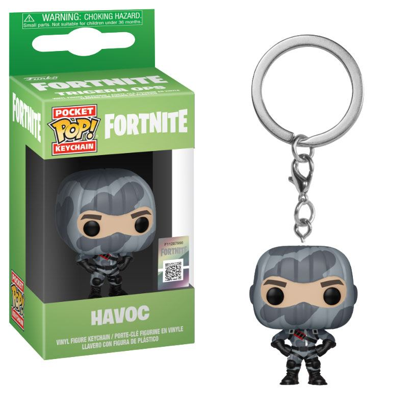 Photo du produit PORTE-CLÉS POCKET POP! FORTNITE HAVOC 4 CM