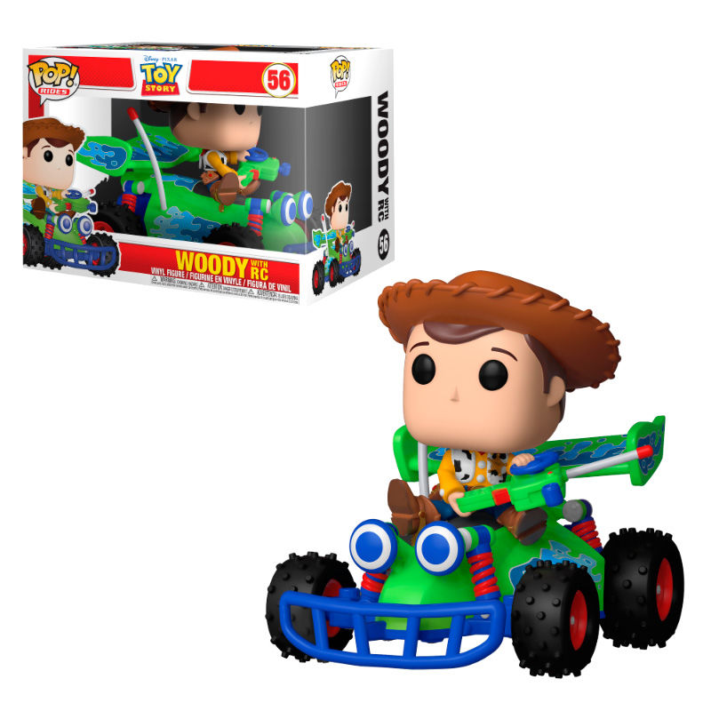 Photo du produit FUNKO POP RIDES DISNEY PIXAR TOY STORY WOODY & RC