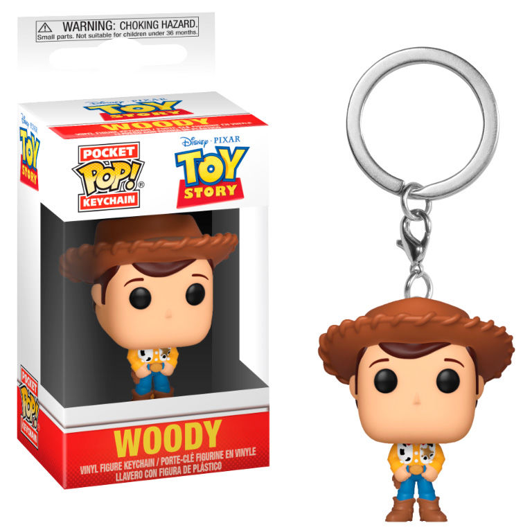 Photo du produit PORTE CLE TOY STORY POCKET POP! WOODY