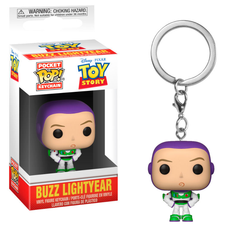 Photo du produit PORTE CLE TOY STORY POCKET POP! BUZZ L'ECLAIR