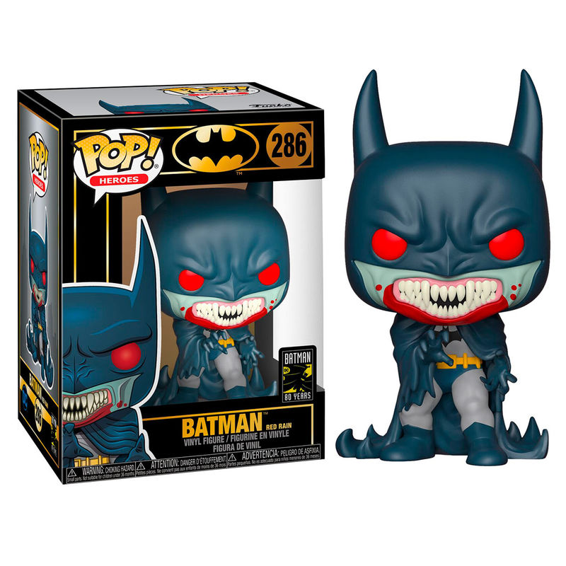Photo du produit FIGURINE FUNKO POP BATMAN 80TH RED RAIN BATMAN (1991)