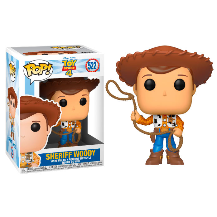 Photo du produit TOY STORY 4 POP! DISNEY VINYL FIGURINE WOODY