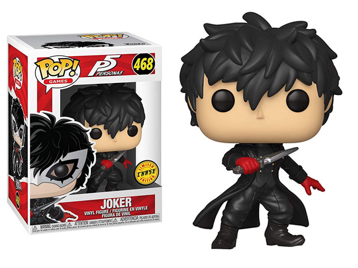 Photo du produit FIGURINE FUNKO POP PERSONA 5 THE JOKER CHASE EXCLUSIVE