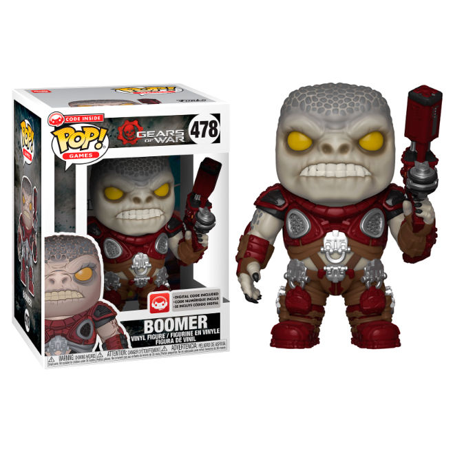 Photo du produit FIGURINE FUNKO POP GEARS OF WAR BOOMER SERIES 3