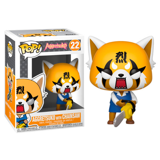 Photo du produit FIGURINE FUNKO POP SANRIO AGGRETSUKO RETSUKO WITH CHAINSAW