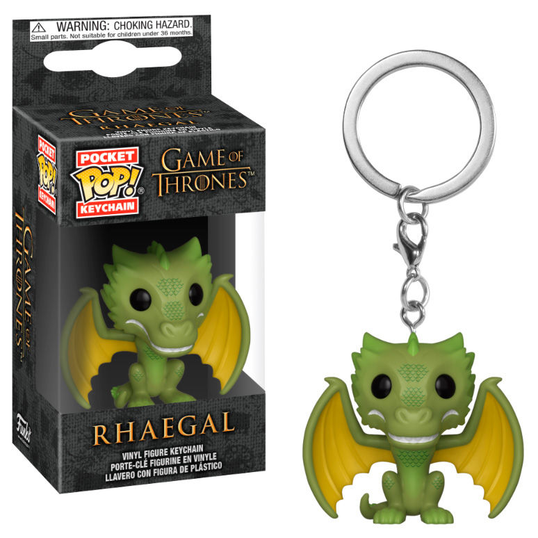 Photo du produit PORTE CLE GAME OF THRONES POCKET POP! RHAEGAL