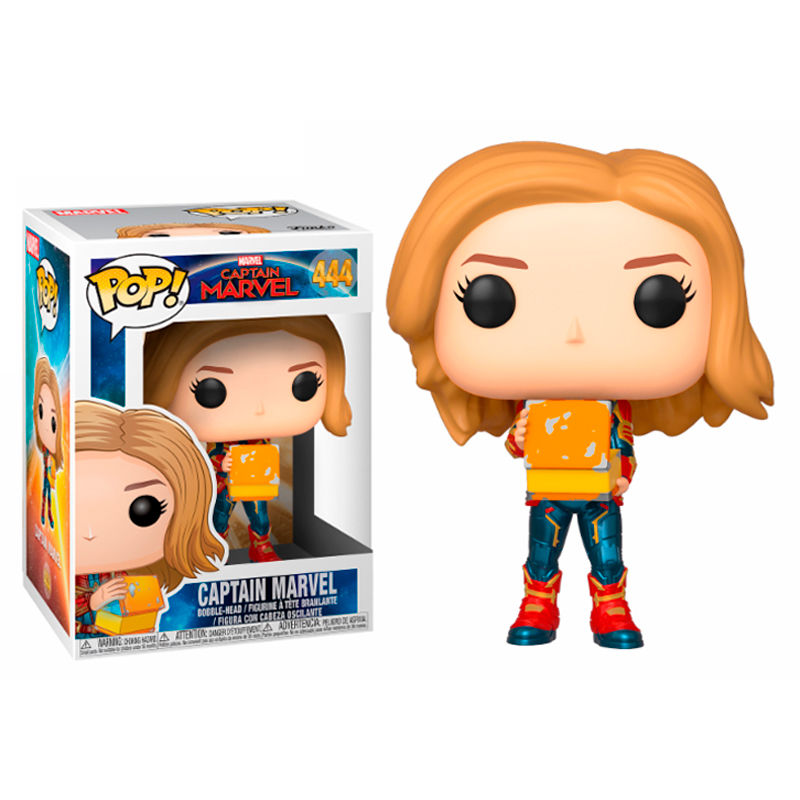 Photo du produit CAPTAIN MARVEL FIGURINE POP! MARVEL CAPTAIN MARVEL WITH LUNCH BOX