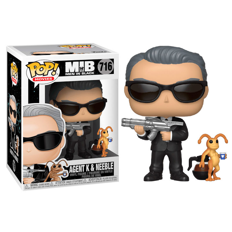 Photo du produit MEN IN BLACK POP! MOVIES VINYL FIGURINE AGENT K & NEEBLE
