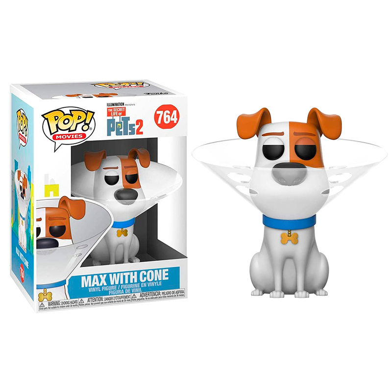 Photo du produit COMME DES BÊTES 2 FIGURINE POP! MOVIES VINYL MAX IN CONE