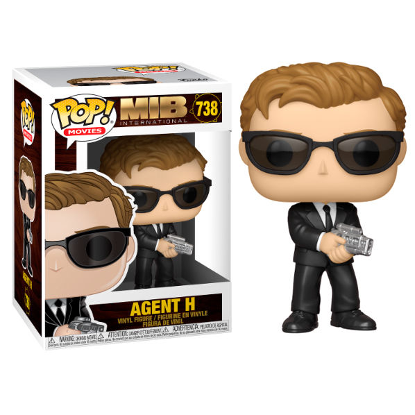 Photo du produit FUNKO POP MEN IN BLACK INTERNATIONAL AGENT H