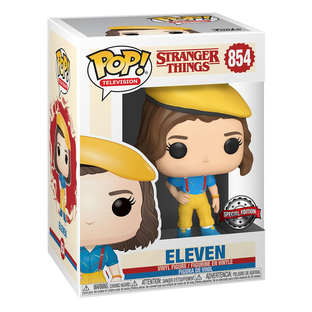 Photo du produit STRANGER THINGS FUNKO POP! ELEVEN IN YELLOW OUTFIT EXCLUSIVE