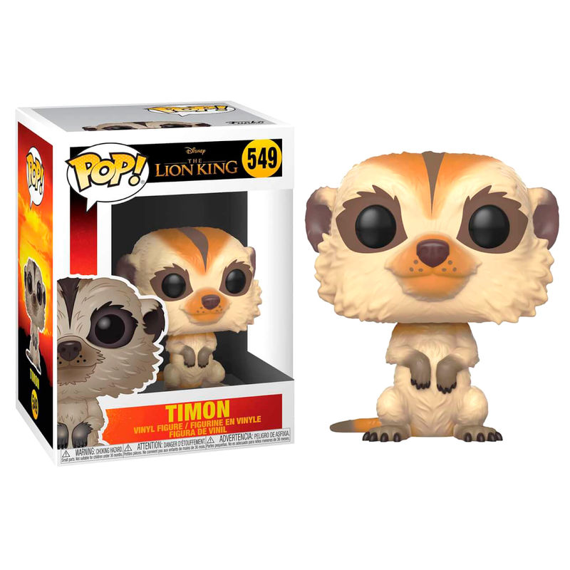 Photo du produit LE ROI LION (2019) FIGURINE FUNKO POP! TIMON