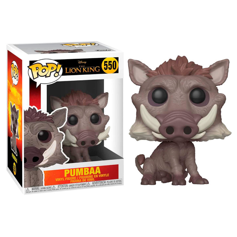 Photo du produit LE ROI LION (2019) FIGURINE FUNKO POP! PUMBAA