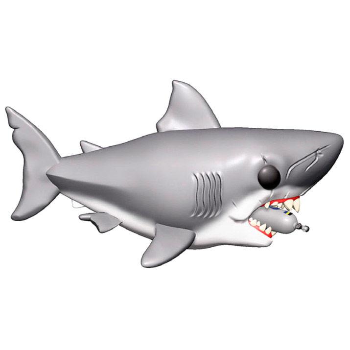 Photo du produit LES DENTS DE LA MER OVERSIZED FUNKO POP! JAWS WITH DIVING TANK 15 CM