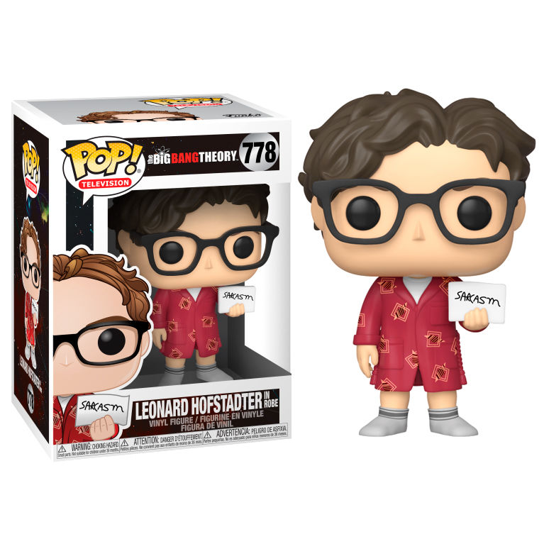 Photo du produit POP! THE BIG BANG THEORY LEONARD