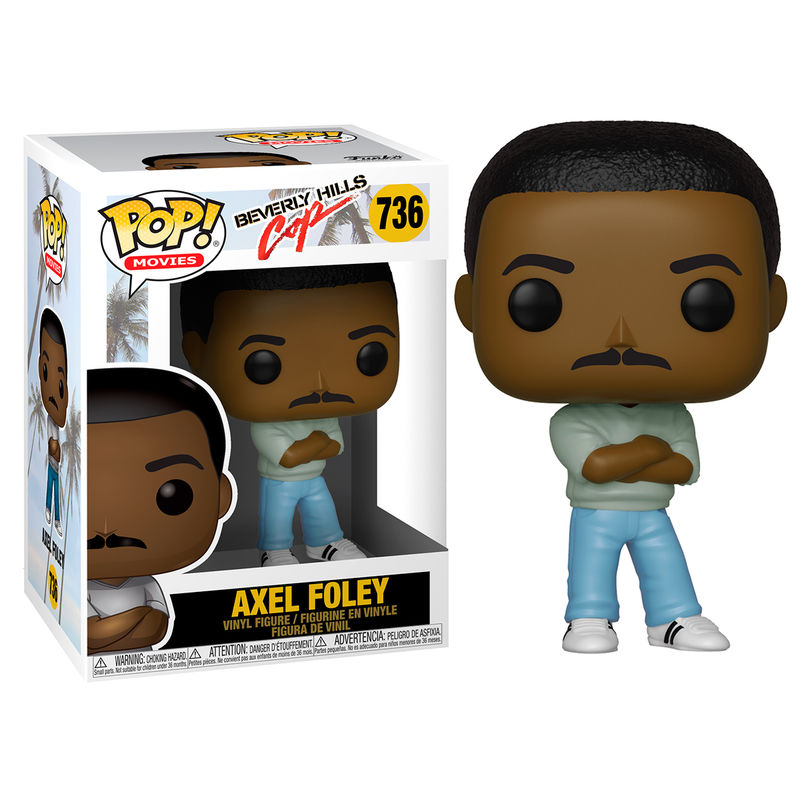Photo du produit FIGURINE FUNKO POP BEVERLY HILLS COP AXEL FOLEY