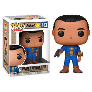 Photo du produit FALLOUT 76 FIGURINE POP! GAMES VINYL VAULT DWELLER (MALE)