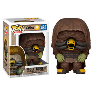 Photo du produit FALLOUT 76 FIGURINE POP! GAMES VINYL MOLE MINER