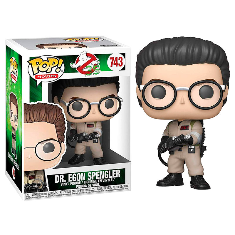 Photo du produit SOS FANTÔMES FUNKO POP! DR. EGON SPENGLER