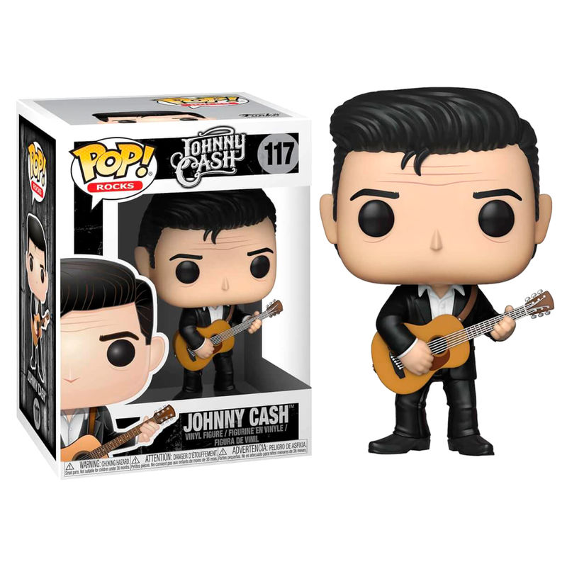 Photo du produit FUNKO POP! ROCKS JOHNNY CASH