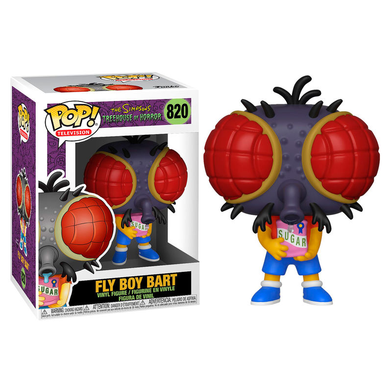 Photo du produit SIMPSONS FIGURINE POP! FLY BOY BART