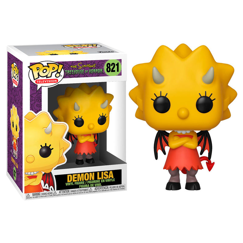 Photo du produit SIMPSONS FIGURINE POP! TV VINYL DEMON LISA