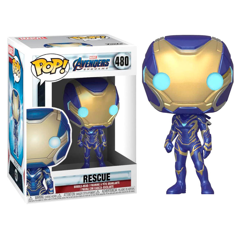 Photo du produit AVENGERS: ENDGAME POP! MOVIES VINYL FIGURINE RESCUE 9 CM