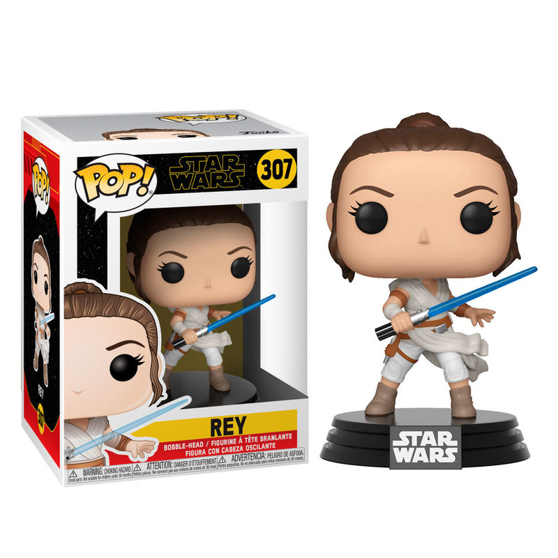 Photo du produit POP! STAR WARS EPISODE IX REY