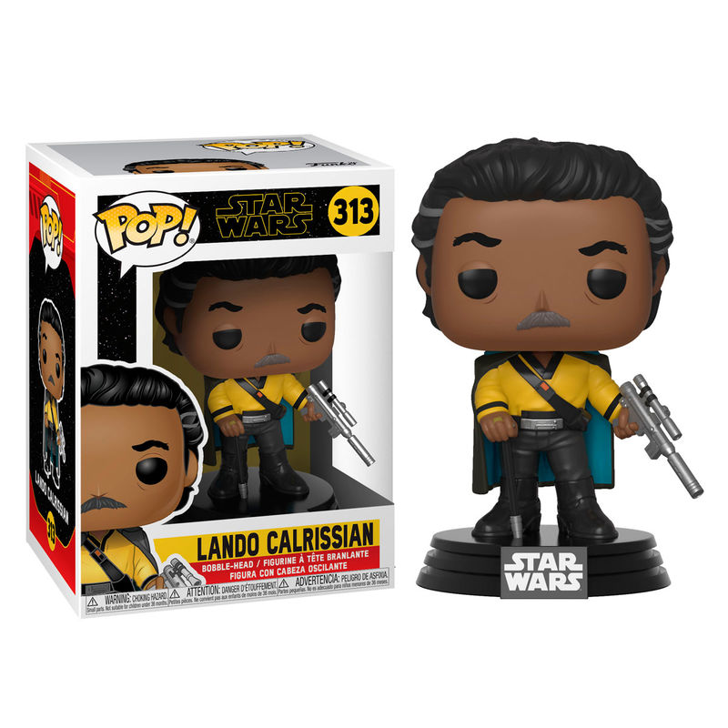 Photo du produit STAR WARS EPISODE IX FIGURINE POP! LANDO CALRISSIAN