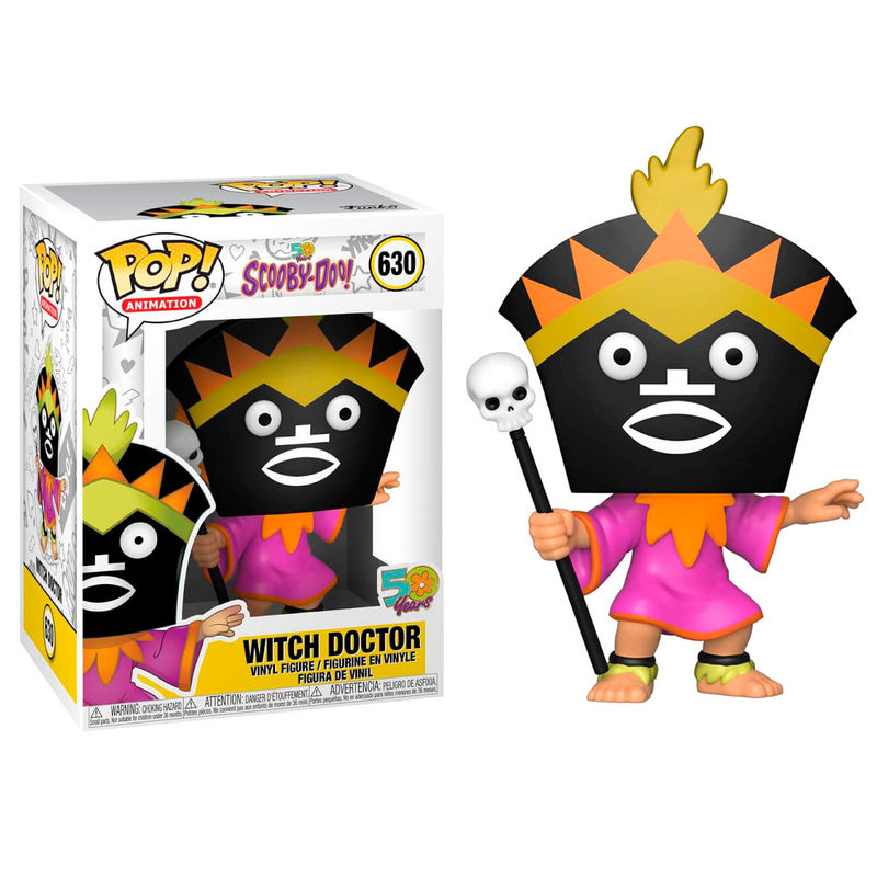 Photo du produit SCOOBY DOO FUNKO POP! ANIMATION WITCH DOCTOR