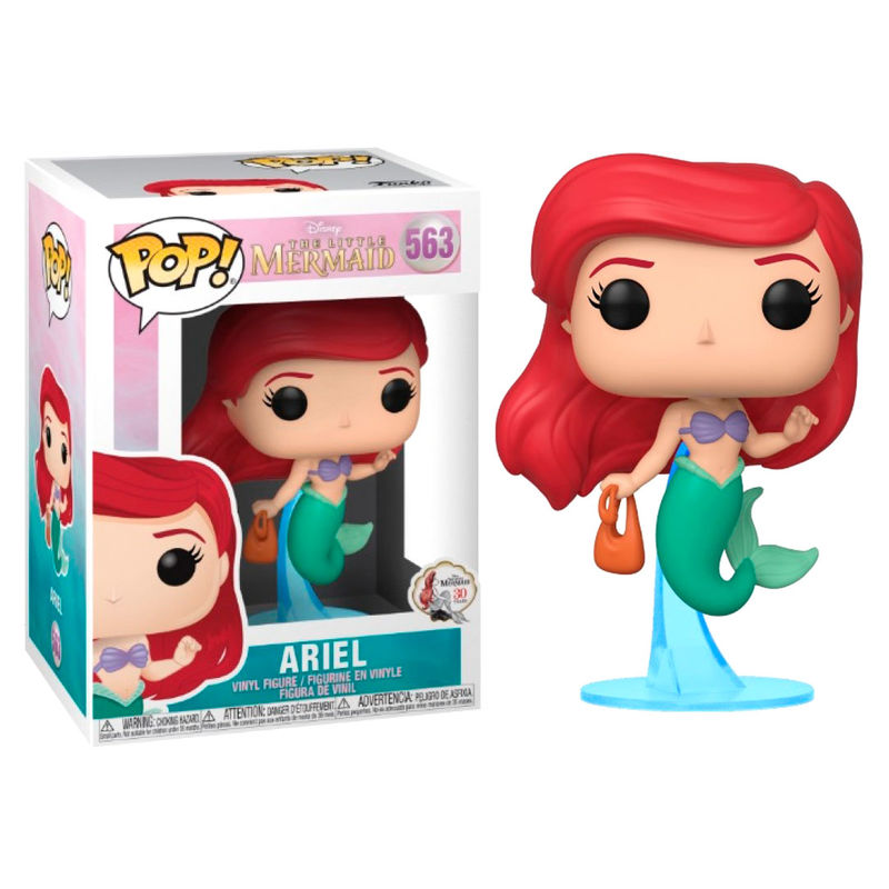 Photo du produit DISNEY LA PETITE SIRENE FUNKO POP ARIEL WITH BAG