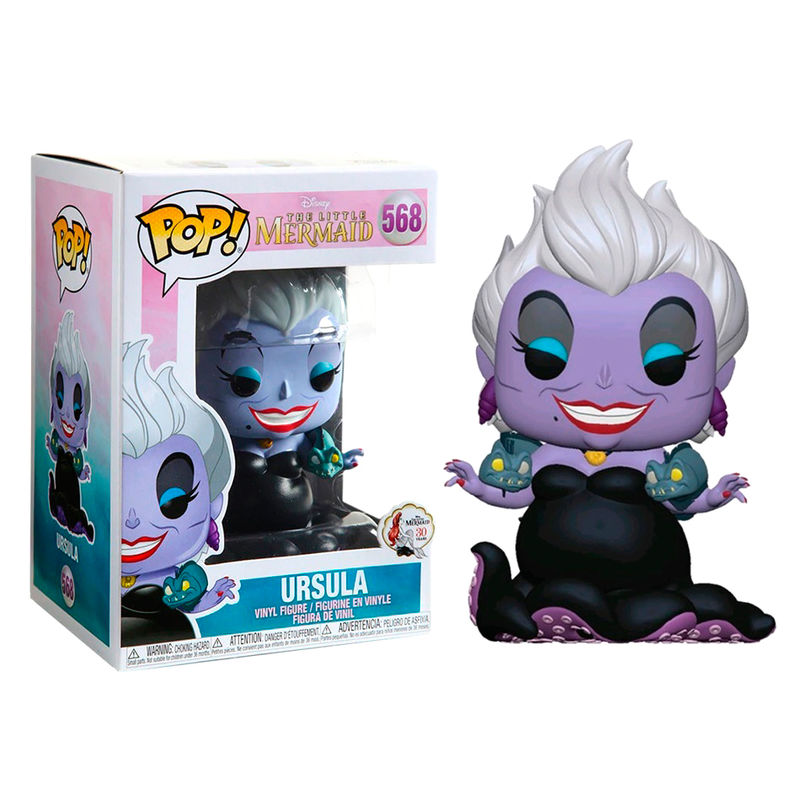 Photo du produit DISNEY LA PETITE SIRENE FUNKO POP URSULA WITH EELS