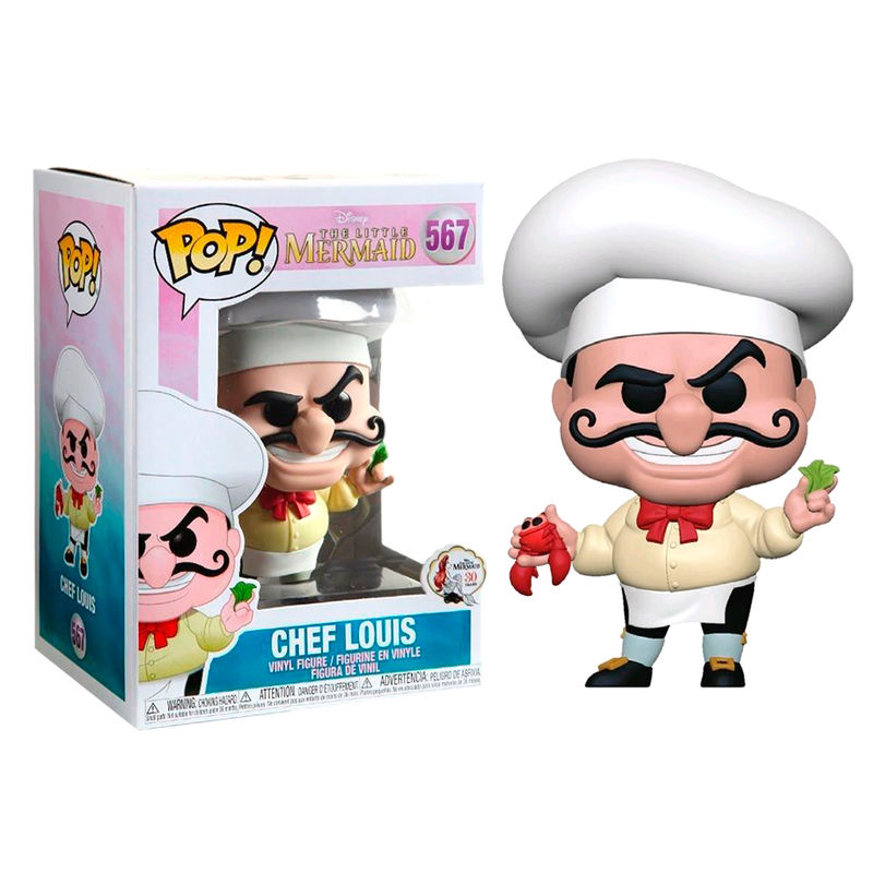 Photo du produit DISNEY LA PETITE SIRENE FUNKO POP CHEF LOUIS