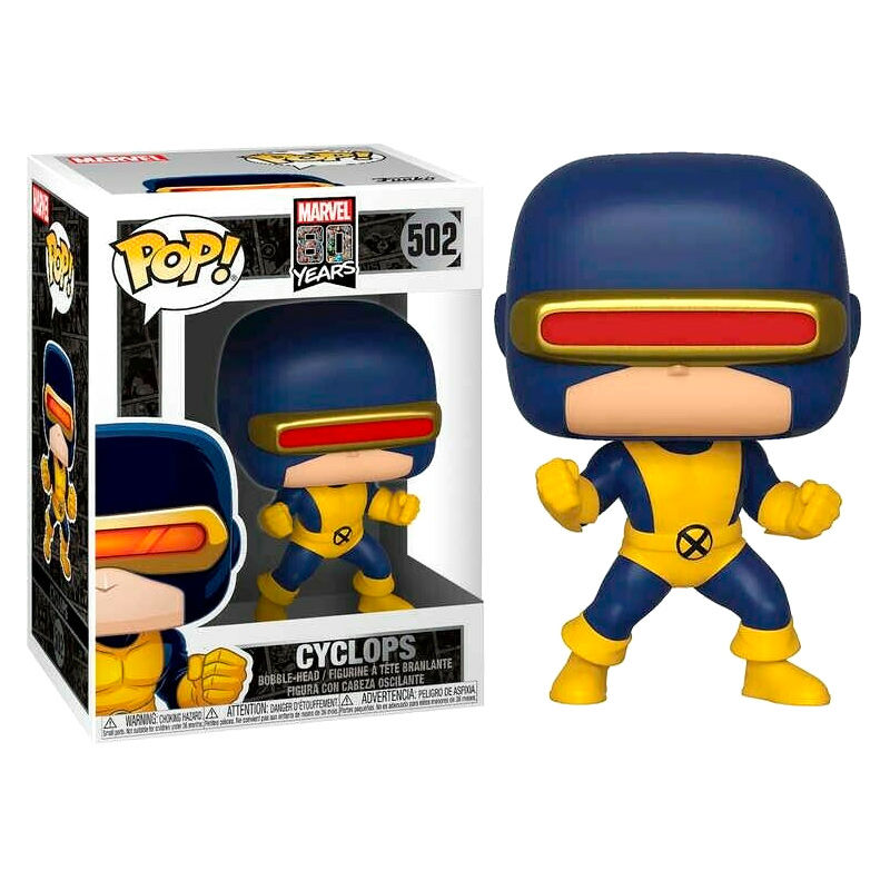 Photo du produit FUNKO POP MARVEL 80TH CYCLOPS (FIRST APPEARANCE)
