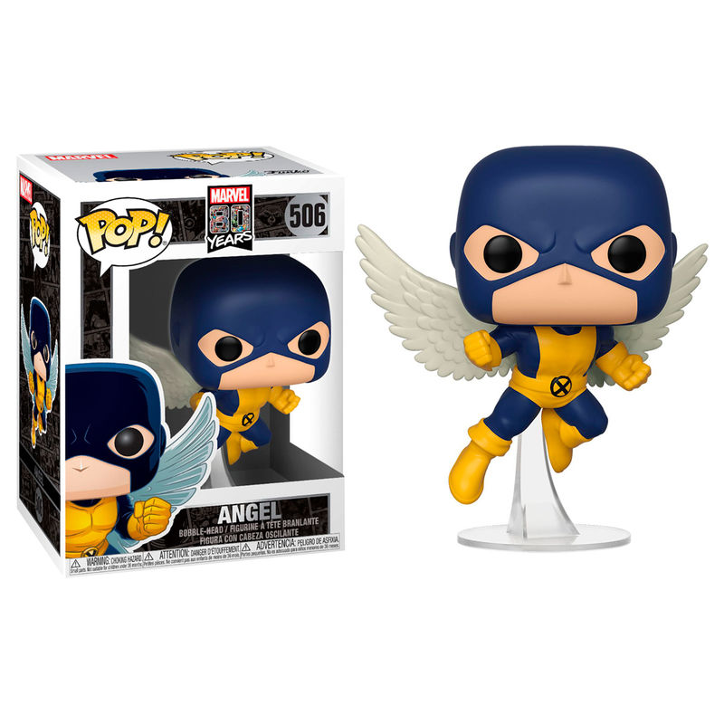 Photo du produit MARVEL 80TH POP! HEROES FIGURINE ANGEL (FIRST APPEARANCE)